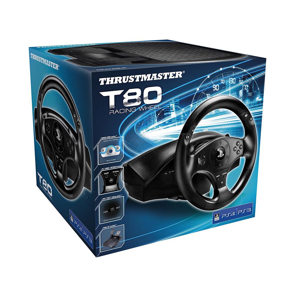 Thrustmaster T80 Racing Wheel Playstation 4 3 Tss Sequential Shifter Handbreak Sparco