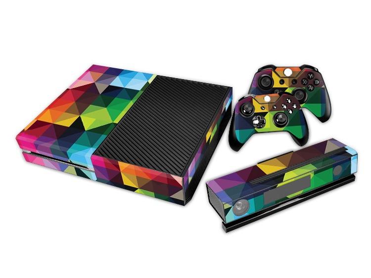Microsoft Xbox One Colorful Crystal Full Body Skin Sticker