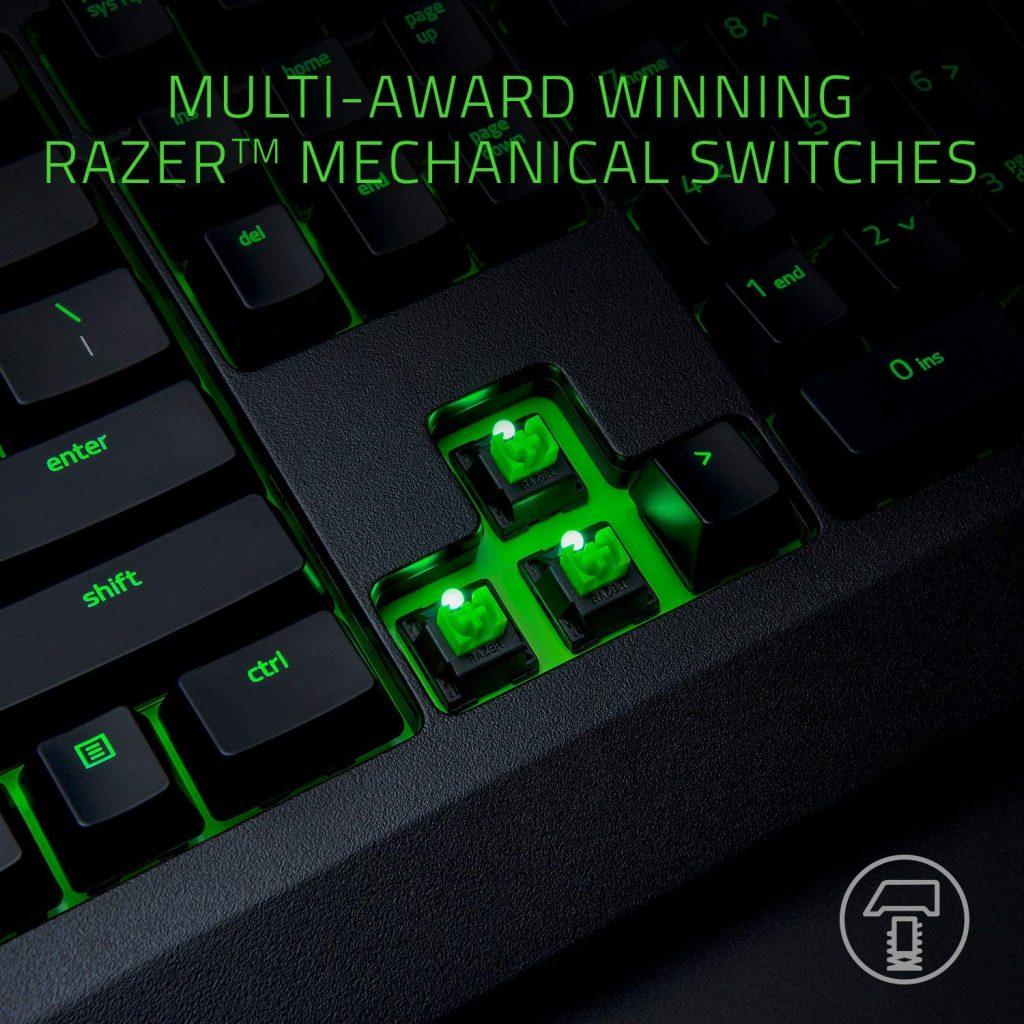 Razer Blackwidow X Ultimate Clicky Backlit Mechanical Gaming