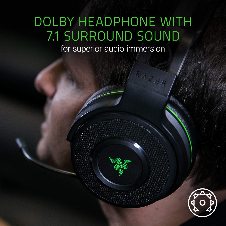Razer Thresher Ultimate For Xbox One - 7 1 Dolby Digital Surround Sound  Gaming Headset